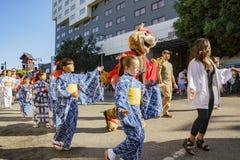 雄伟Nisei星期节日在一点东京 库存图片