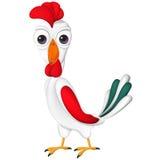 雄鸡动画片, 2017年在中国日历,动物中国黄道带标志,传统庆祝,动物的标志 库存照片