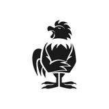 雄鸡商标 库存图片