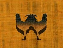 雄鸡孪生 免版税库存照片