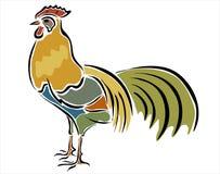 雄鸡 免版税图库摄影