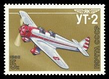雅克夫列夫航空器Ut-2 库存照片