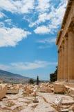 雅典。 希腊。 帕台农神庙 免版税库存照片