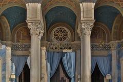 雅典修造的外部 免版税库存图片