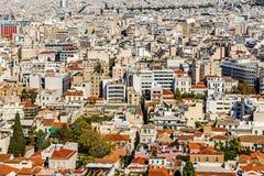 雅典全景 库存图片