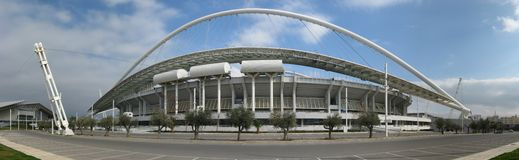 雅典奥林匹克体育场 免版税库存图片