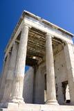 雅典娜・雅典希腊耐克寺庙 免版税库存图片