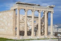 雅典娜寺庙 免版税库存照片