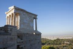 雅典娜耐克寺庙 免版税库存图片