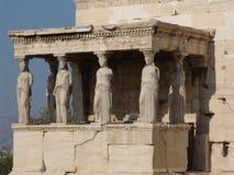 雅典娜耐克寺庙 库存照片