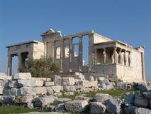 雅典娜耐克寺庙 库存图片