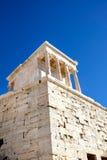 雅典娜耐克寺庙 免版税库存照片