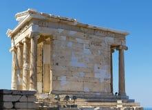 雅典娜耐克,雅典寺庙  免版税库存照片