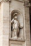雅典娜雕象 库存图片