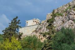 雅典寺庙 库存照片