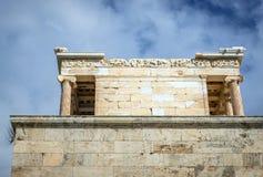 雅典寺庙 图库摄影