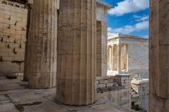 雅典寺庙 库存图片
