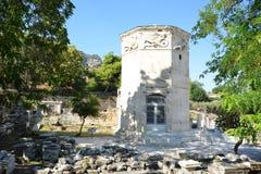 雅典希腊上城旅行目的地旅游业 免版税库存照片