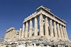 雅典希腊帕台农神庙寺庙 免版税库存图片