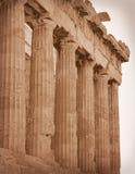 雅典希腊废墟 免版税库存图片