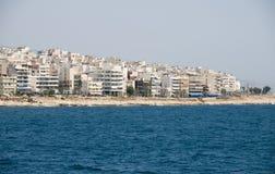 雅典希腊端口 免版税库存照片