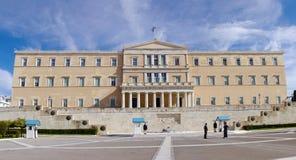 雅典希腊议会 免版税库存图片