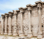 雅典希腊hadrian图书馆s 免版税库存图片