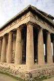 雅典希腊hephaestos寺庙 库存照片