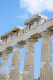 雅典帕台农神庙 库存图片