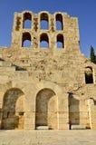 雅典废墟  库存图片