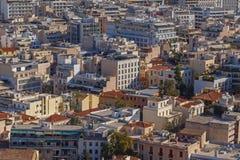 雅典的视域 免版税图库摄影