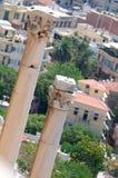 雅典视图 免版税库存图片