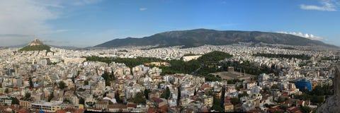 雅典视图 免版税库存照片