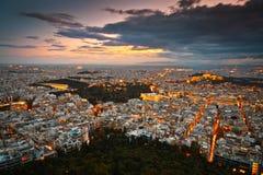 雅典,希腊。 免版税库存图片