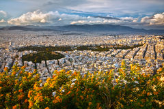 雅典,希腊。 库存图片