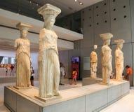 雅典,希腊博物馆  库存照片