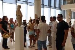 雅典,希腊博物馆  库存图片