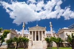 雅典,希腊学警系列  库存图片