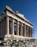 雅典,希腊帕台农神庙  免版税库存照片