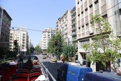雅典,希腊街道  库存图片