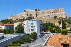 雅典,希腊街道  免版税库存图片