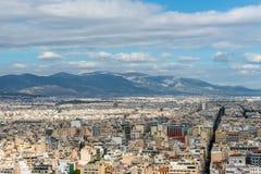 雅典,希腊都市风景  免版税库存照片