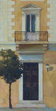 雅典,希腊,手工制造绘画街道  图库摄影