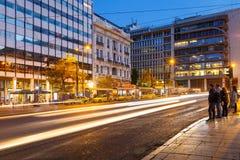 雅典,希腊 免版税图库摄影