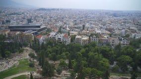 雅典,希腊 股票录像