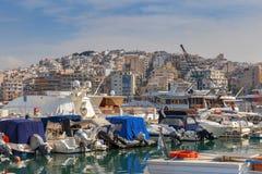 雅典 口岸比雷埃夫斯 库存图片