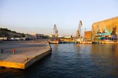 雅典-希腊的港 库存图片
