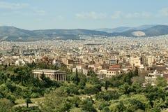 雅典hephaisteion寺庙 免版税库存照片