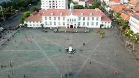 雅加达历史博物馆时间间隔英尺长度  股票视频