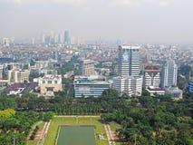 雅加达地平线 图库摄影